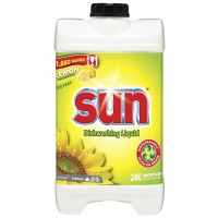 SUN Washing Up Liquid Sunshine Lemon 20L