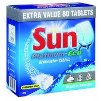 SUN PLATINUM-ECO DISHWASHER TABLETS 5x80TB
