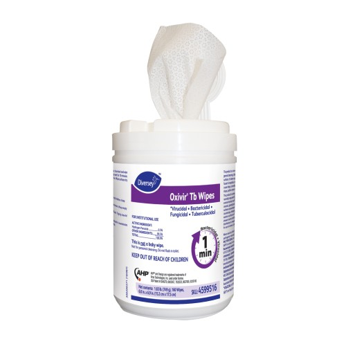 Oxivir Tb Wipes  (15.2 x 17.8CM) 12x160Wipes