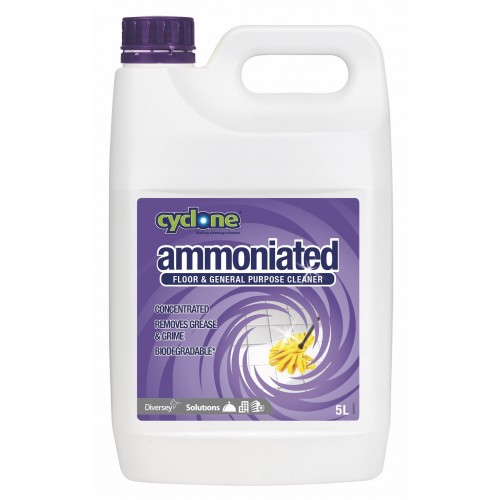 CYCLONE Ammoniated Floor & General Purpose Cleaner 2x5L