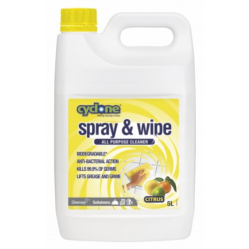 CYCLONE Spray & Wipe 2x5L