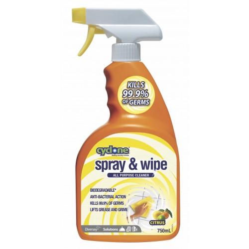 CYCLONE Spray & Wipe 9x750ML