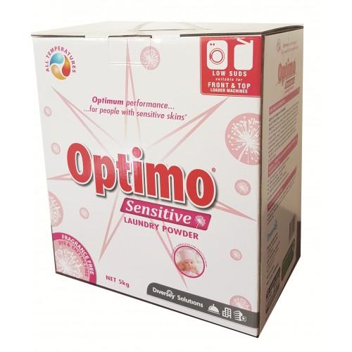 OPTIMO Sensitive Laundry Powder F/T Loader 3x5KG
